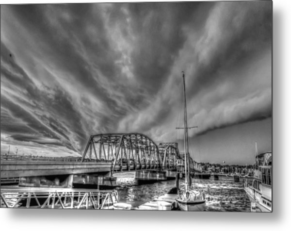 Under The Storm Metal Print