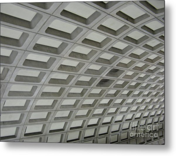 Underground. Washington Dc. Usa Metal Print