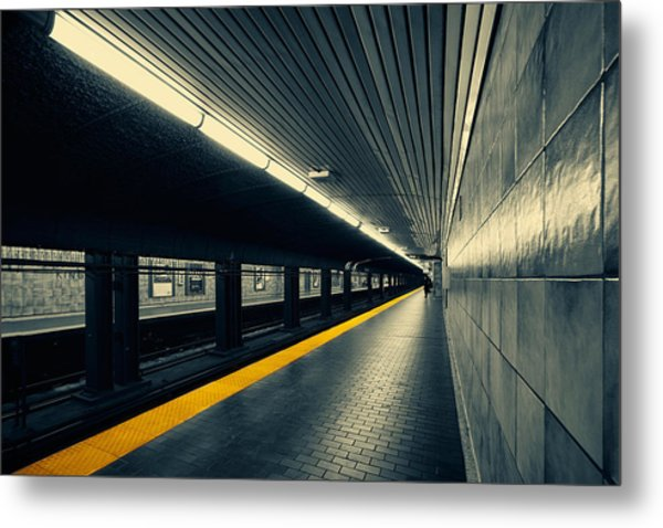 Understanding Lines And Colours Metal Print