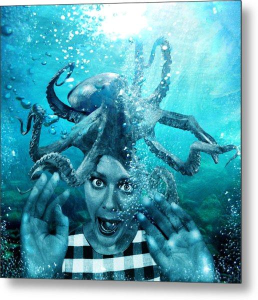Underwater Nightmare Metal Print