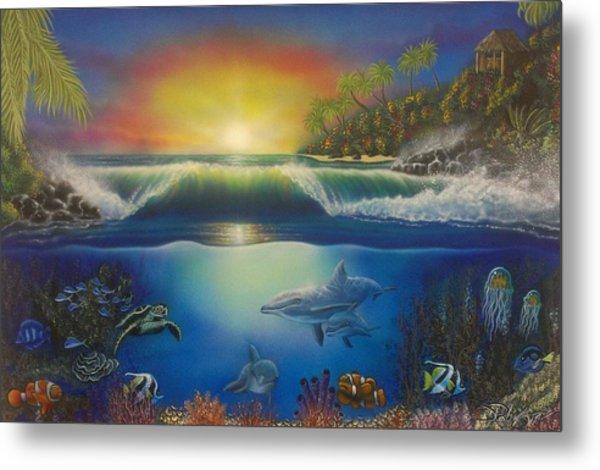 Underwater Paradise Metal Print