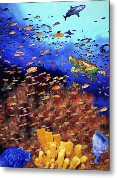 Underwater Wonderland Metal Print