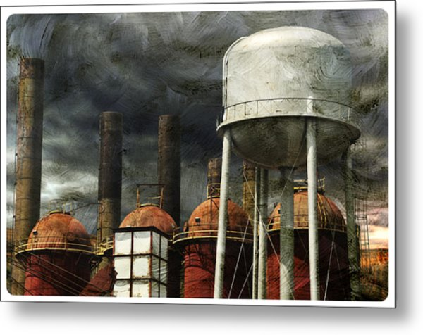 Uneasy Day Metal Print