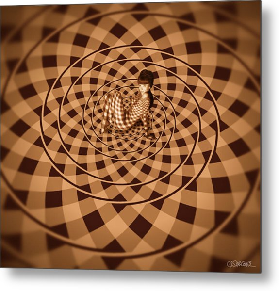 Unexpected Vortex Of Love Metal Print