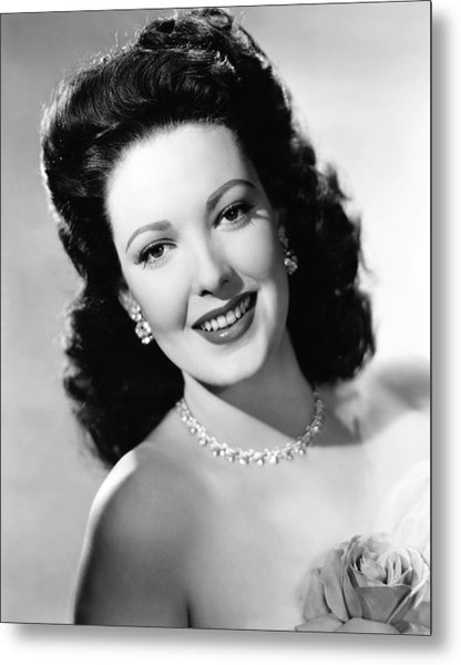 Unfaithfully Yours, Linda Darnell Metal Print