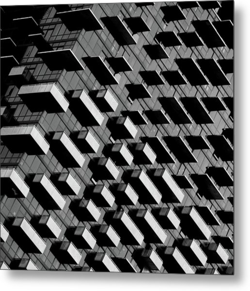 Unfinished Balcony Metal Print
