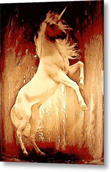 Unicorn Metal Print by David Alvarez