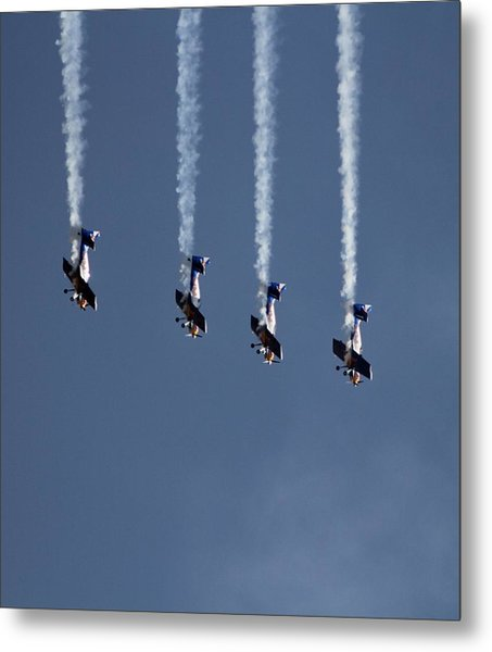Unimaginably High G-forces Metal Print
