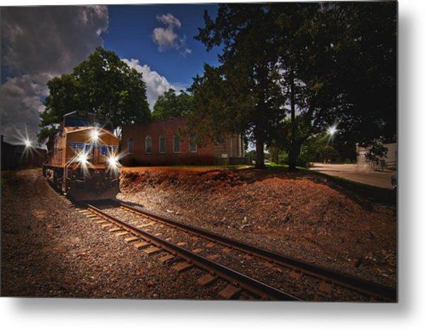 Union Pacific 7917 Train Metal Print