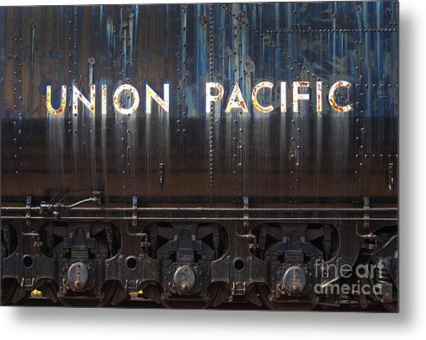 Union Pacific - Big Boy Tender Metal Print
