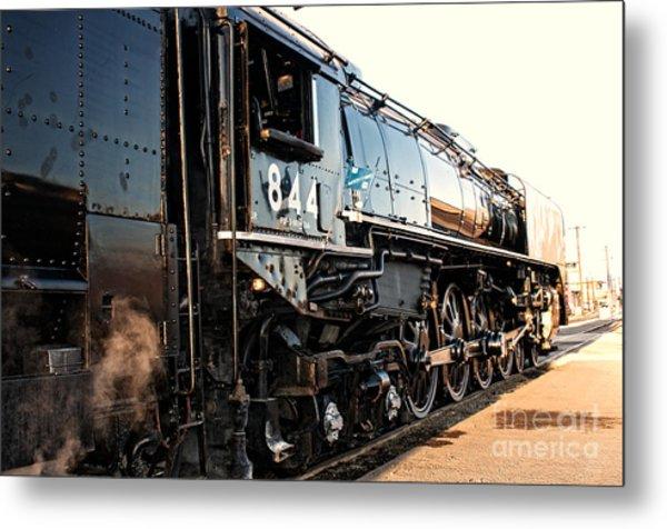 Union Pacific Engine #844 Metal Print