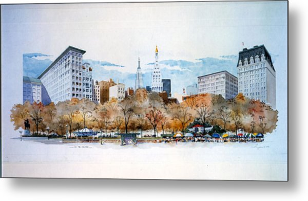 Union Square Nyc Metal Print