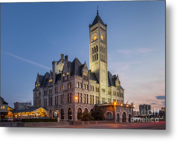 Metal Print featuring the photograph Union Station  by Brian Jannsen