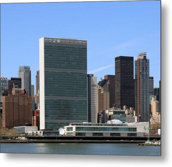 United Nations  Metal Print