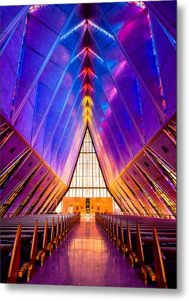 United States Air Force Academy Protestant Cadet Chapel Metal Print