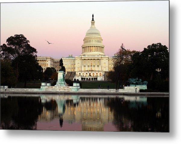 United States Capitol Washington Dc Metal Print