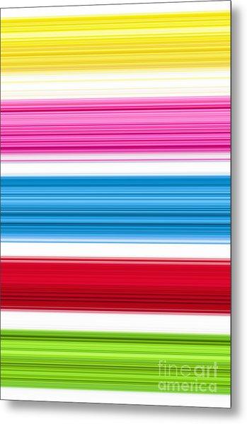Unity Of Colour 3 Metal Print