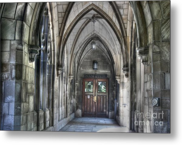 University Of Chicago Metal Print by David Bearden