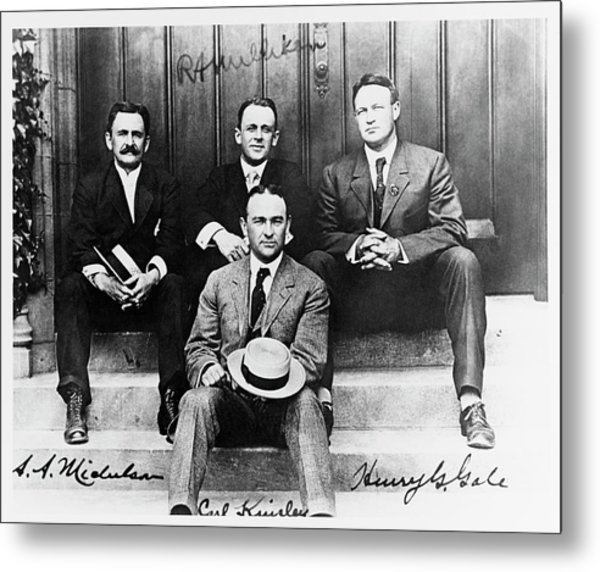 University Of Chicago Physicists Metal Print by Us Navy