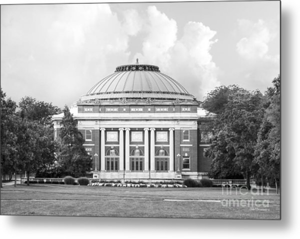 University Of Illinois Foellinger Auditorium Metal Print by University Icons