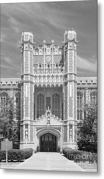 University Of Oklahoma Bizzell Memorial Library  Metal Print