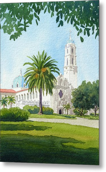 University Of San Diego Metal Print