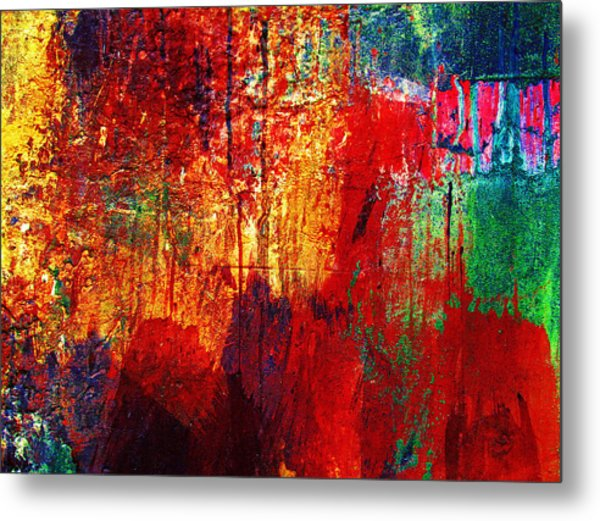 Untamed Colors  Metal Print