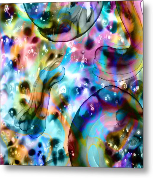 Molecules And Mankind Metal Print