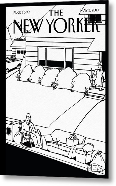 New Yorker May 3rd, 2010 Metal Print