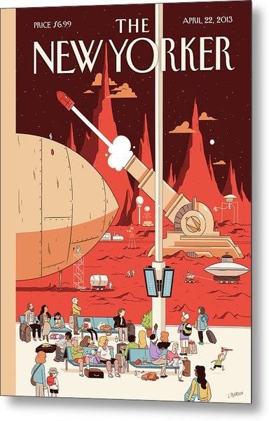 New Yorker April 22nd, 2013 Metal Print