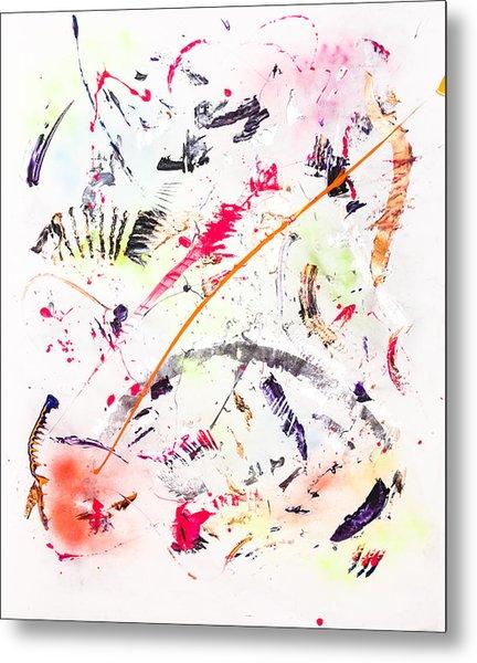 Untitled Number Seven  Metal Print