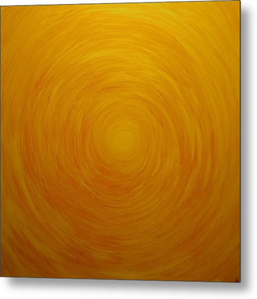 Untitled Painting 1 Metal Print by Drew Shourd