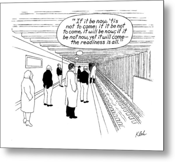 New Yorker May 29th, 2000 Metal Print