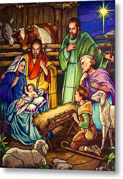 Unto Us A Son Is Given Metal Print
