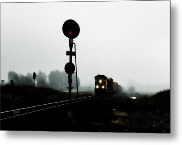 Metal Print featuring the photograph Up 8057 by Jim Thompson