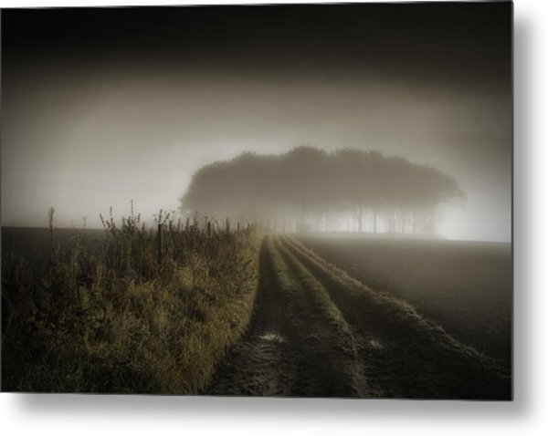 Up On T Moor... Metal Print