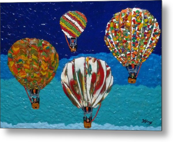 Up Up And Away Metal Print