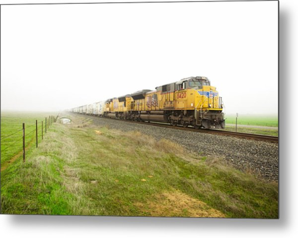 Metal Print featuring the photograph Up8420 by Jim Thompson