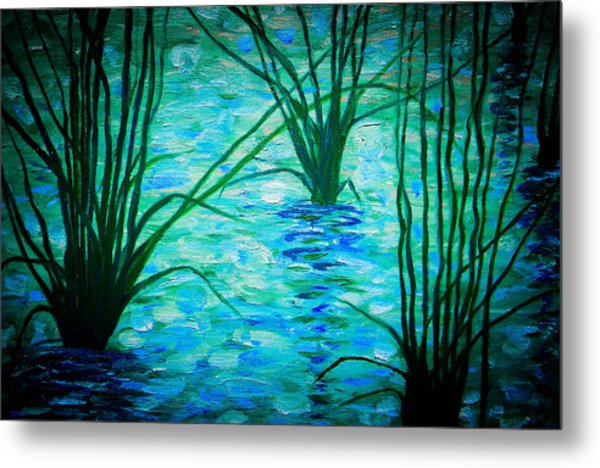 Upon The Waters Metal Print