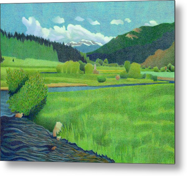 Upper Bear Creek Colorado Metal Print