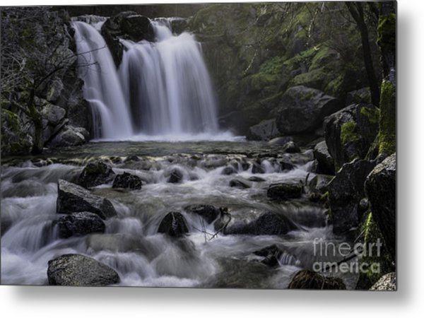 Upper Crystal Creek Falls  Metal Print