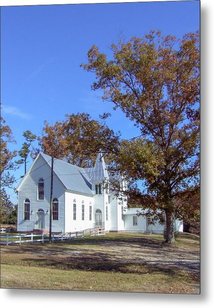 Upper Neck Church Metal Print