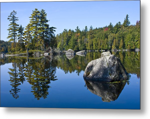 Upper Saranac Lake Ny Metal Print