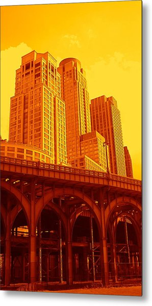 Upper West Side And Hudson River Manhattan Metal Print