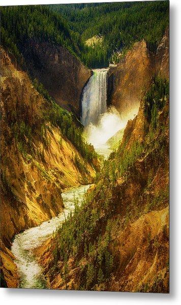 Upper Yellowstone Metal Print by Stuart Deacon