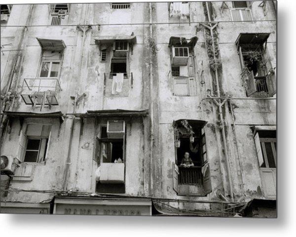 Urban Bombay Metal Print