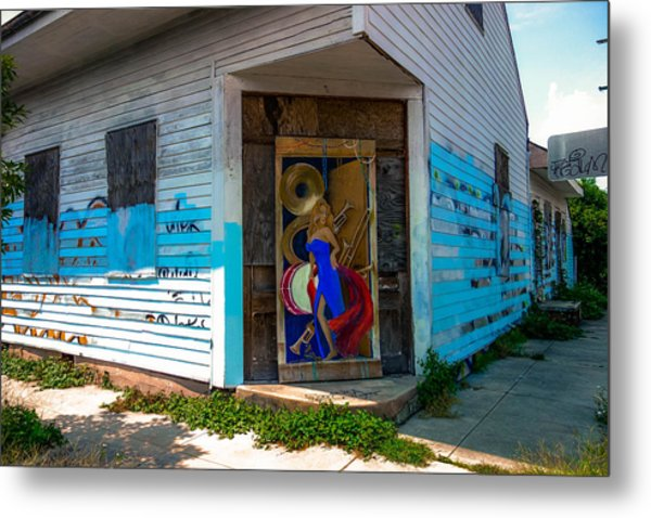 Urban Decay New Orleans Style Metal Print
