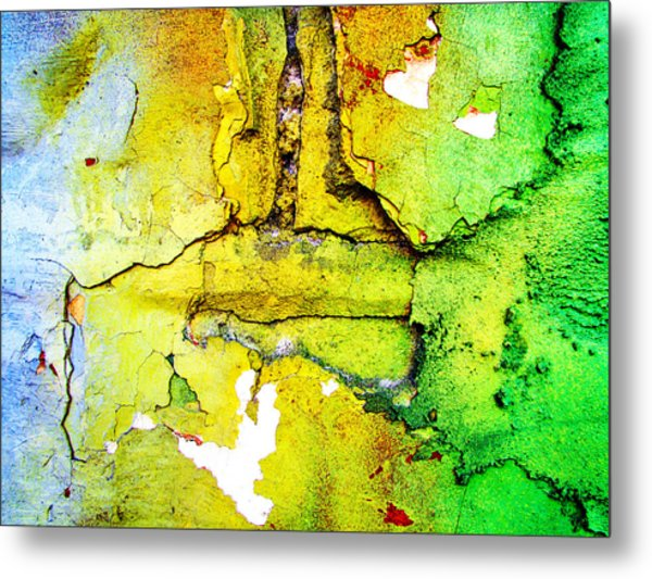 Urban Decay Metal Print