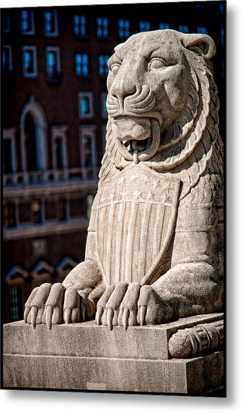 Urban King Metal Print