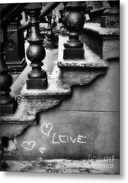 Urban Love Metal Print